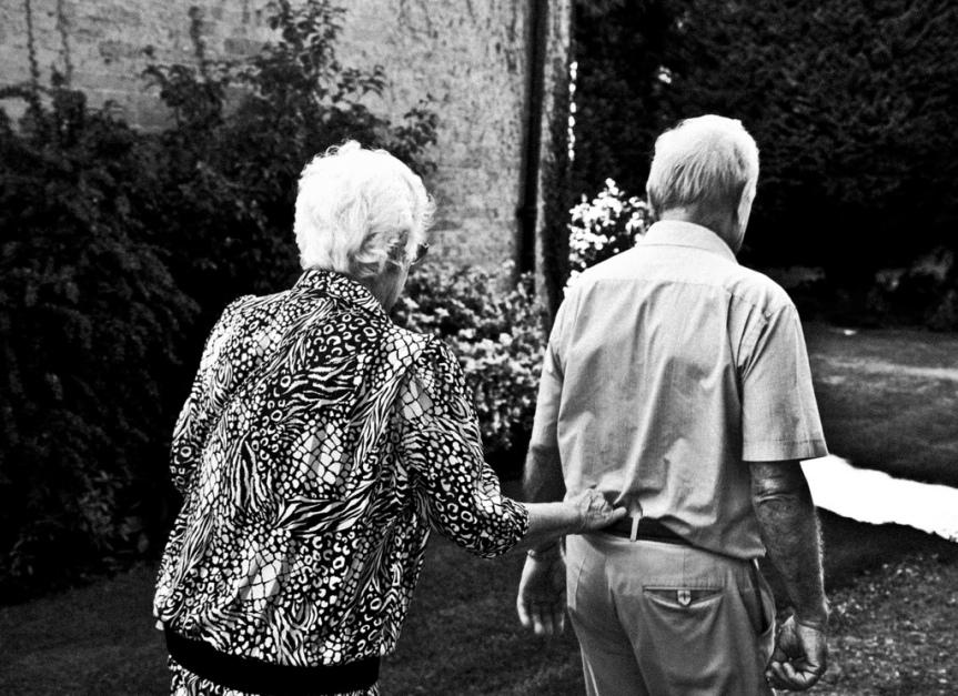 old people walking