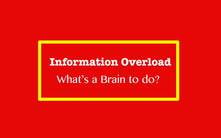 How does Your Brain Cope With Information Overload?