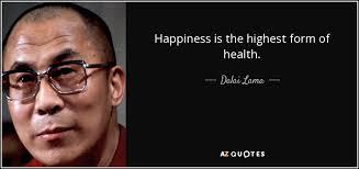 DalaiLama - Happiness&Health